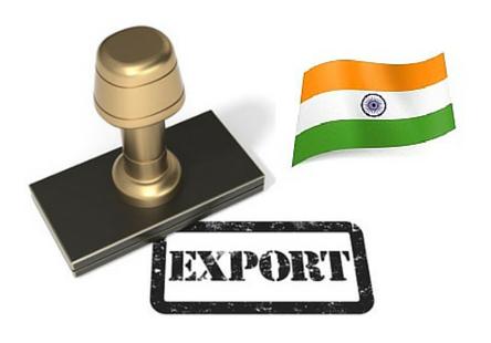 export in india