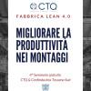 Migliorare la produttività dei montaggi formazione toscana industria