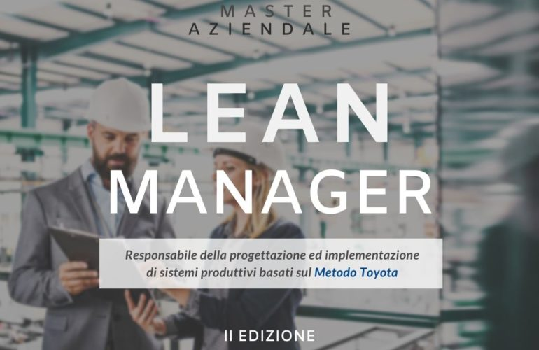 Lean Manager Laureati