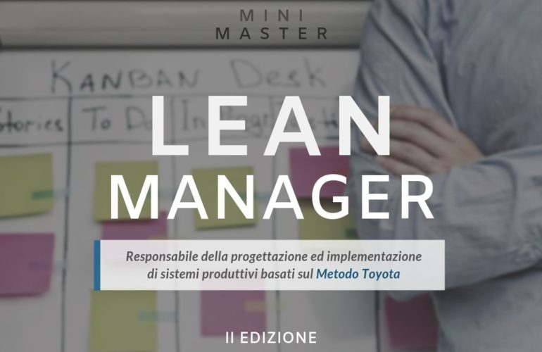 Mini Master Lean Manager